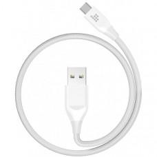 Кабель Tronsmart USB2.0-Type-C 1m ATC7 Nylon Cable White